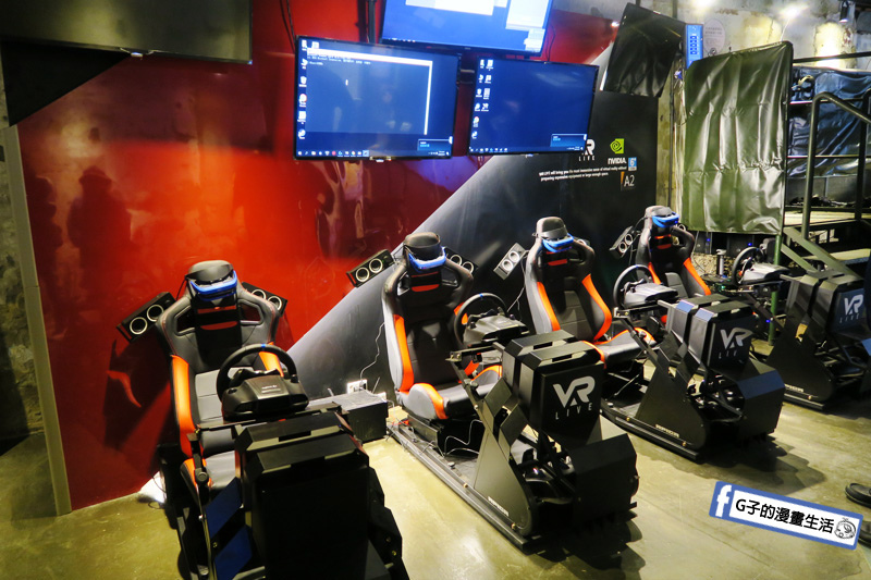 VAR LIVE台北 西門町店.地表最強VR電競體驗館