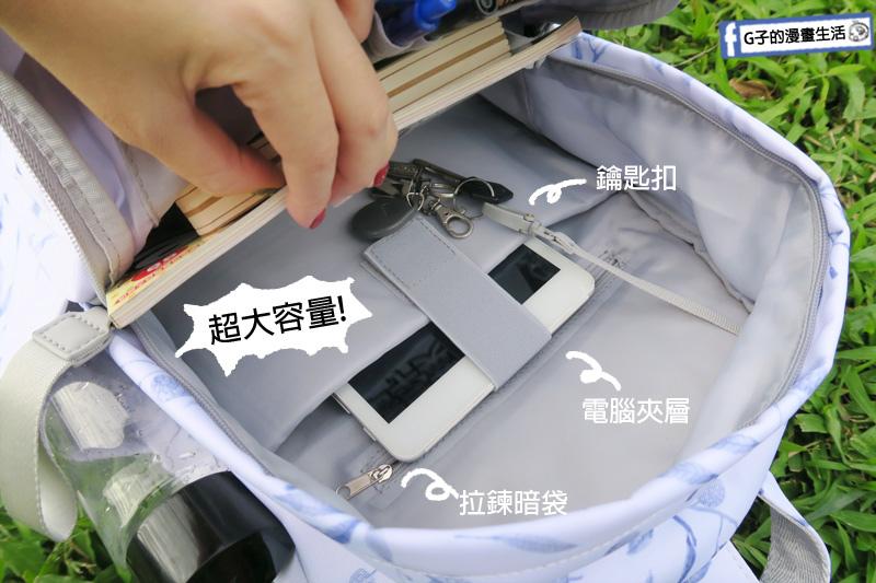 HC STORE防水後背包.台灣設計師品牌.冬梅映雪