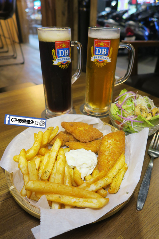 永和Echo Bistro 披薩吧/小餐館.永安市場捷運站.生啤.義大利麵.炸物