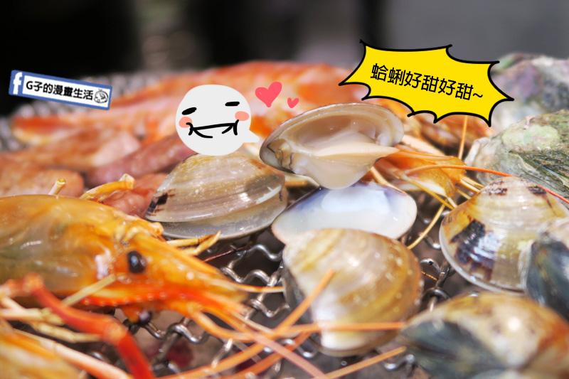 【新店烤肉鍋物吃到飽】上禾町日式燒肉.燒烤火鍋吃到飽.泰國蝦.天使紅蝦.生蠔.澎湖牡蠣