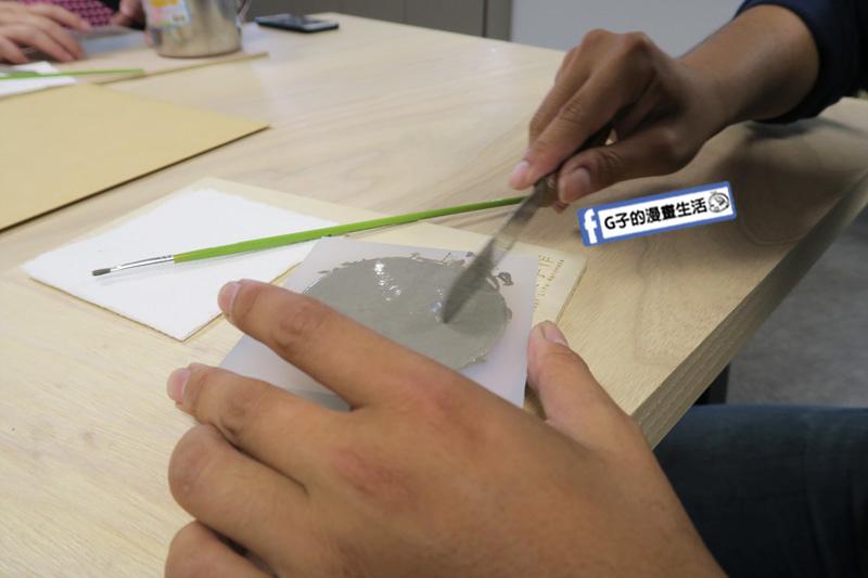 Pinkoi Experience 跟著職人玩體驗.品品學堂.手作體驗活動.水泥杯墊.手作.DIY.植人手作.山水意象