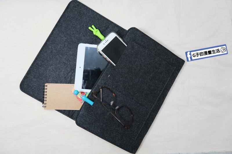 維度生活-開箱手提電腦包.極簡床邊收納掛袋.居家生活好物