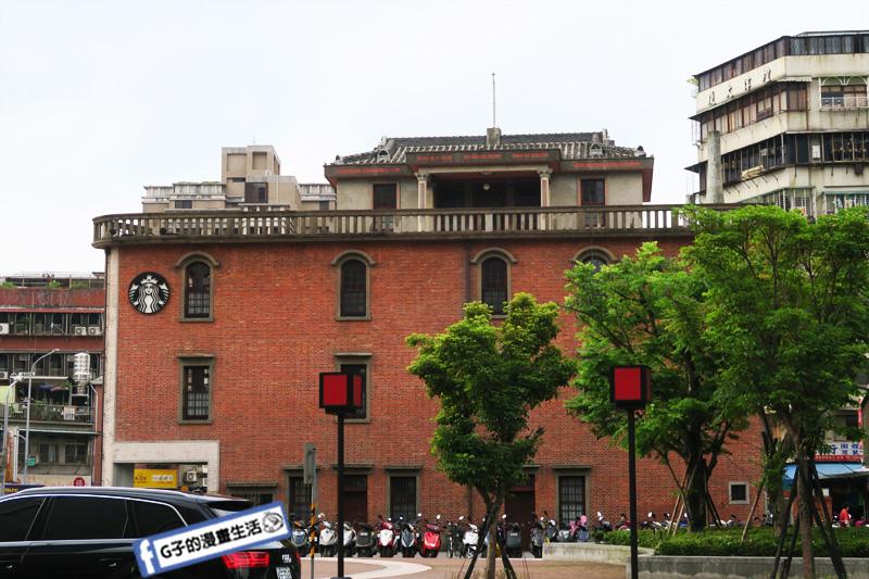 艋舺 龍山寺捷運站 STARBUCKS 星巴克 萬華林宅古蹟