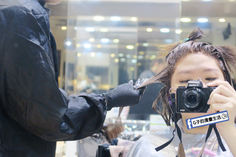公館Hg Taipei 一店.2019染髮.焦糖髮色..美髮.護髮.小芬.日系染髮劑.染白髮