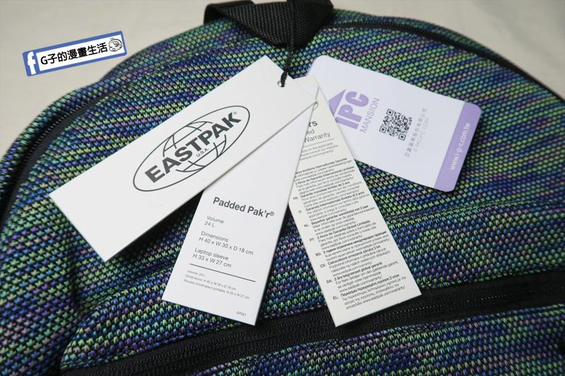EASTPAK Padded Pak'r®後背包.大容量包包