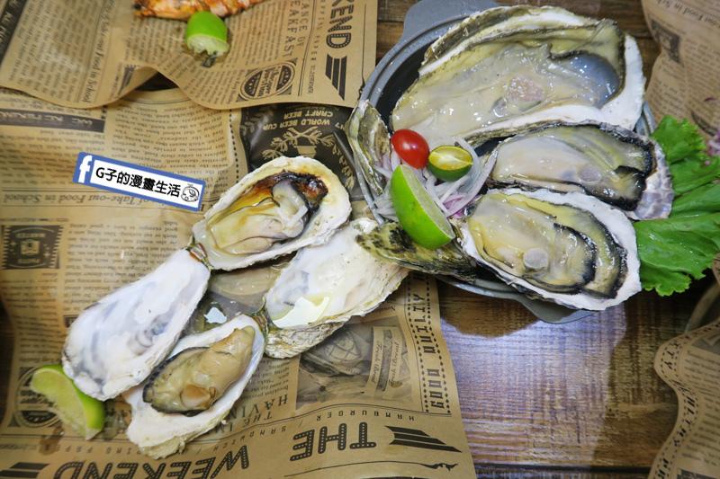 板橋-火夯seafood 海鮮燒烤.平價燒烤.生蠔.牛小排.滷肉飯
