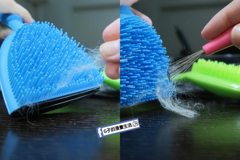 Michel Mercier專利設計點點按摩寵物梳.貓狗寵物梳子