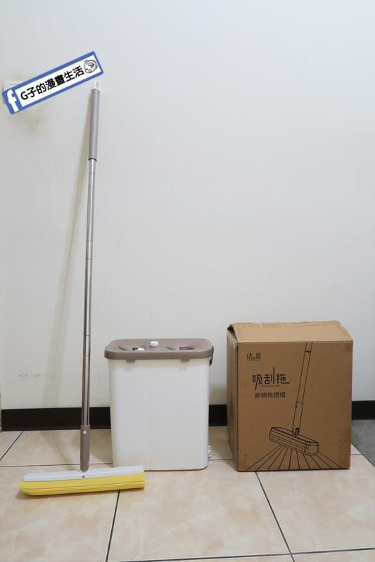 佶之屋  吸刮拖開箱.嘖嘖百萬募資吸刮拖.吸塵器+拖把打掃結合