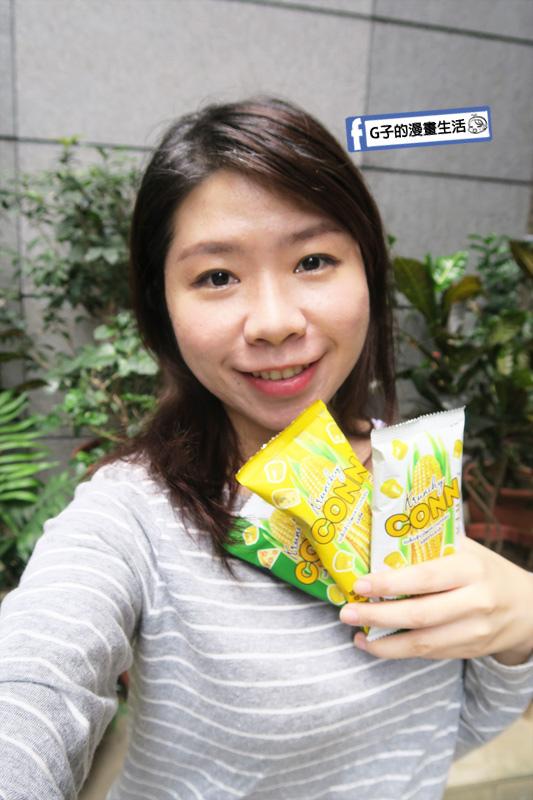 喬山叔叔-泰國CONN香脆玉米粒.低卡零嘴