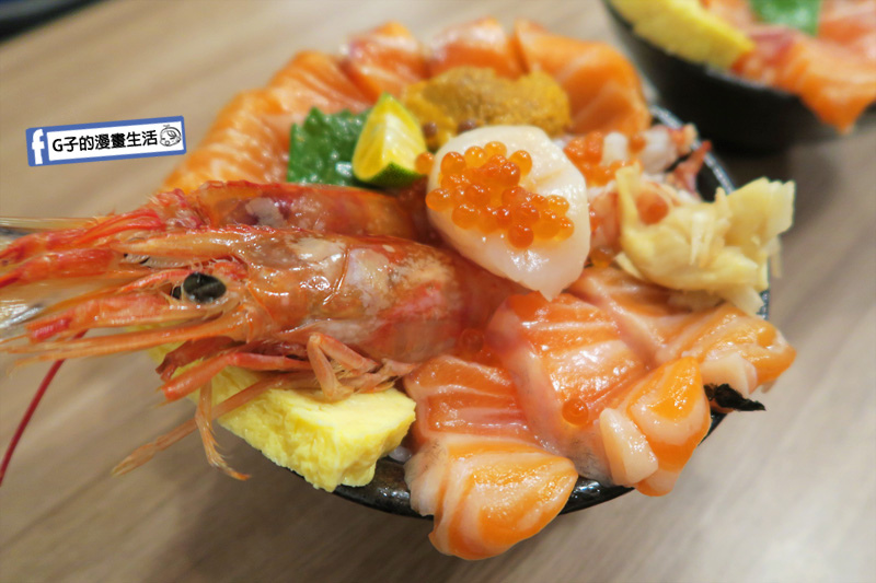 20190917永和千幸壽司.永和日本料理.永和日式料理.生魚片丼飯.天使紅蝦丼飯