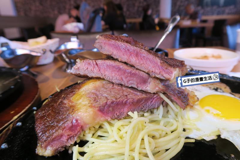 西門町牛排-人从众厚切牛排館-西門Steak.平價牛排.自助吧吃到飽