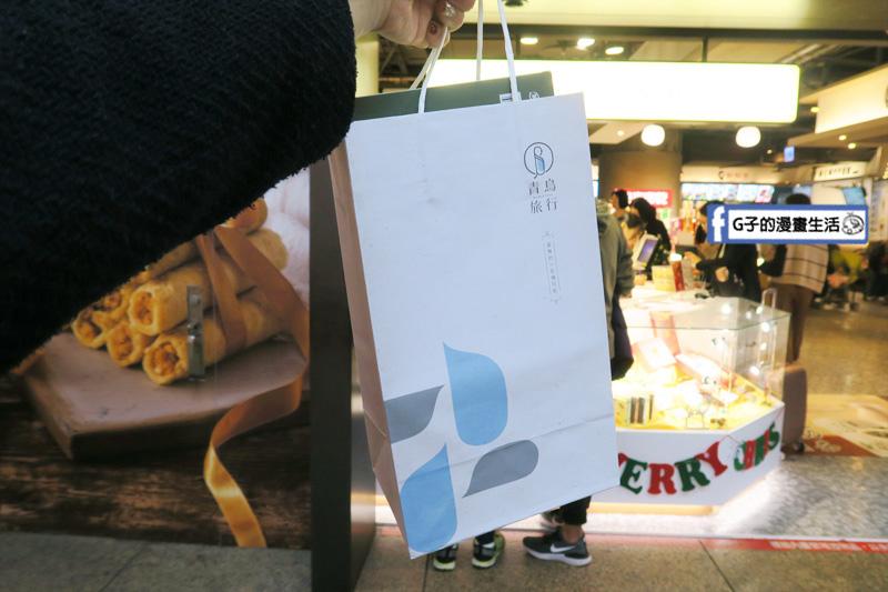青鳥旅行.北車站前誠品.台北火車站.台中必買伴手禮:蛋捲的100種可能