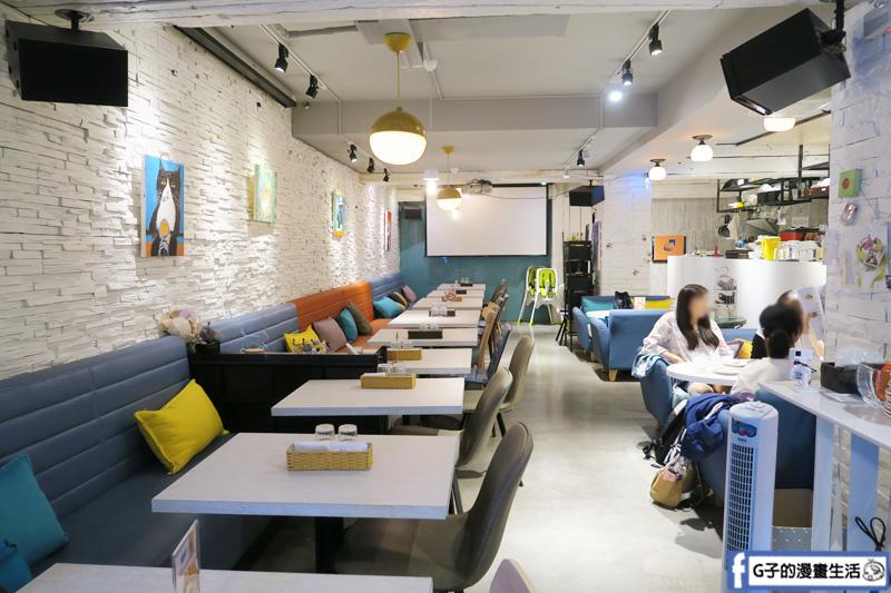 Gattino Restaurant.國父紀念館義式餐廳早午餐.義大利麵.手工甜點