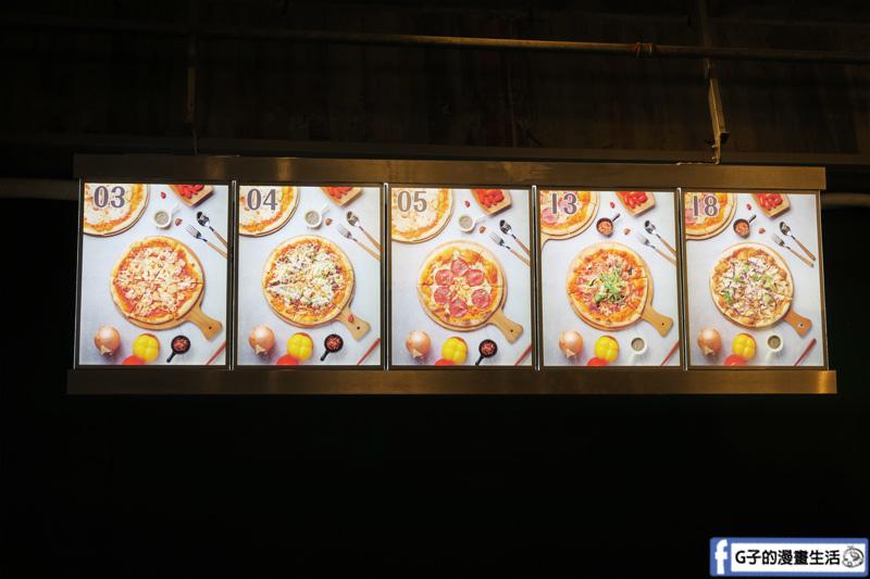 捷運中山站美食 台北Pizza推薦 台北義式手作披薩-La Bocca