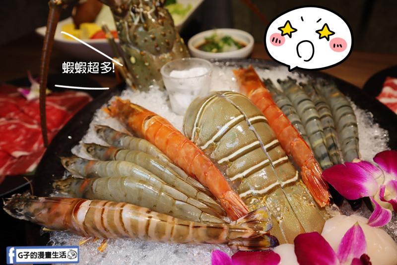 板橋捷運美食.瀧鍋物製造所.大遠百斜對面.板橋必吃火鍋.雙人海陸龍蝦套餐