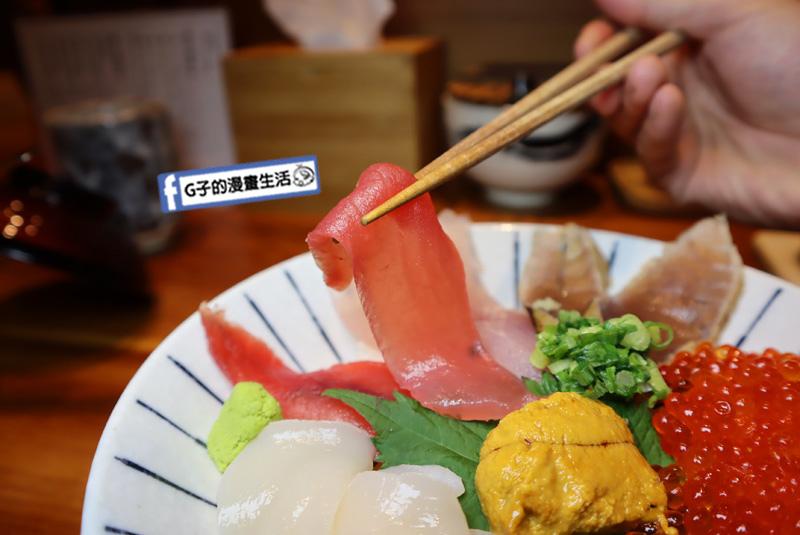 【台北信義區海鮮丼】日本橋海鮮丼 辻半-Tsujihan.微風信義.刺身.生魚片丼飯