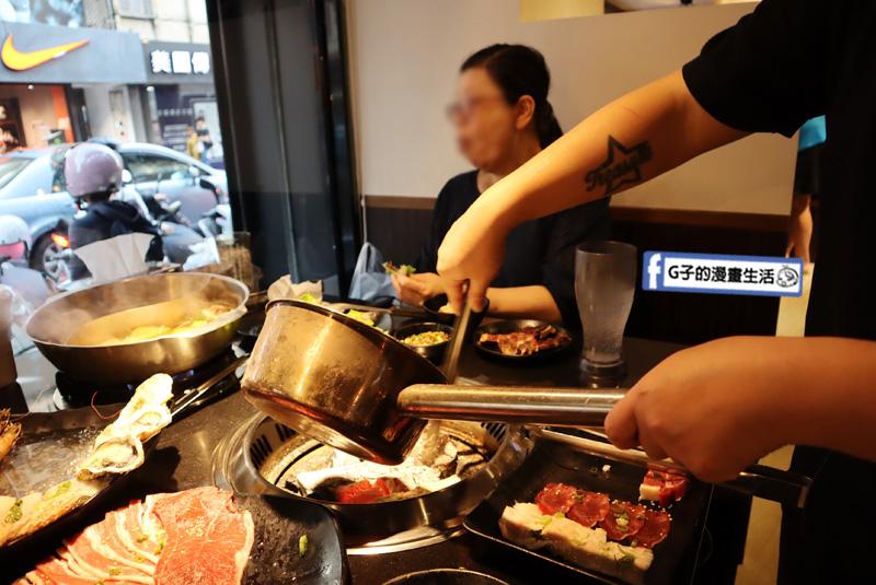 公館燒烤吃到飽-瓦崎燒烤火鍋.$599十週年慶CP值高.生蠔海鮮