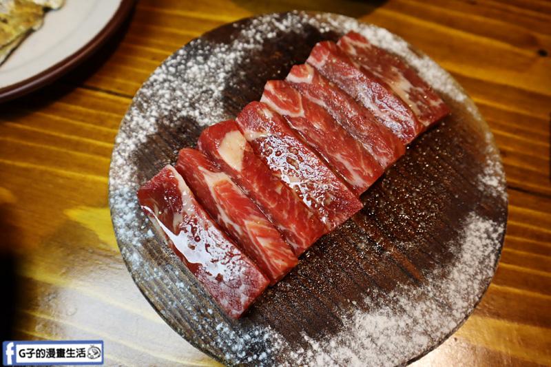 新北三重菜寮-米炭火燒肉小酒館,單點式燒烤.DIY自己烤.松阪豬.厚切牛小排