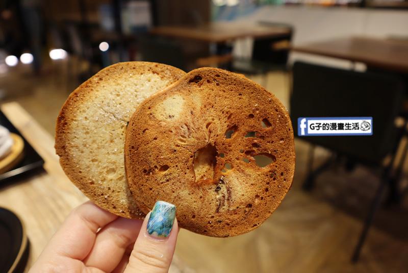 【松菸早午餐/市政府】飽貝 bo'bagel - 貝果Cafe.奶油乳酪貝果.烤貝果餅乾
