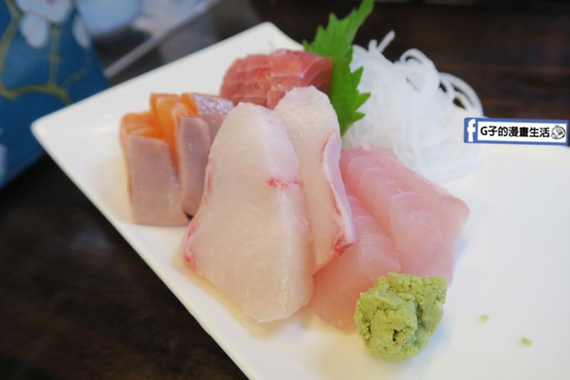 丸隆生魚行.台北永樂市場.迪化街.綜合生魚片-鮭魚.鮪魚.海鱺.旗魚