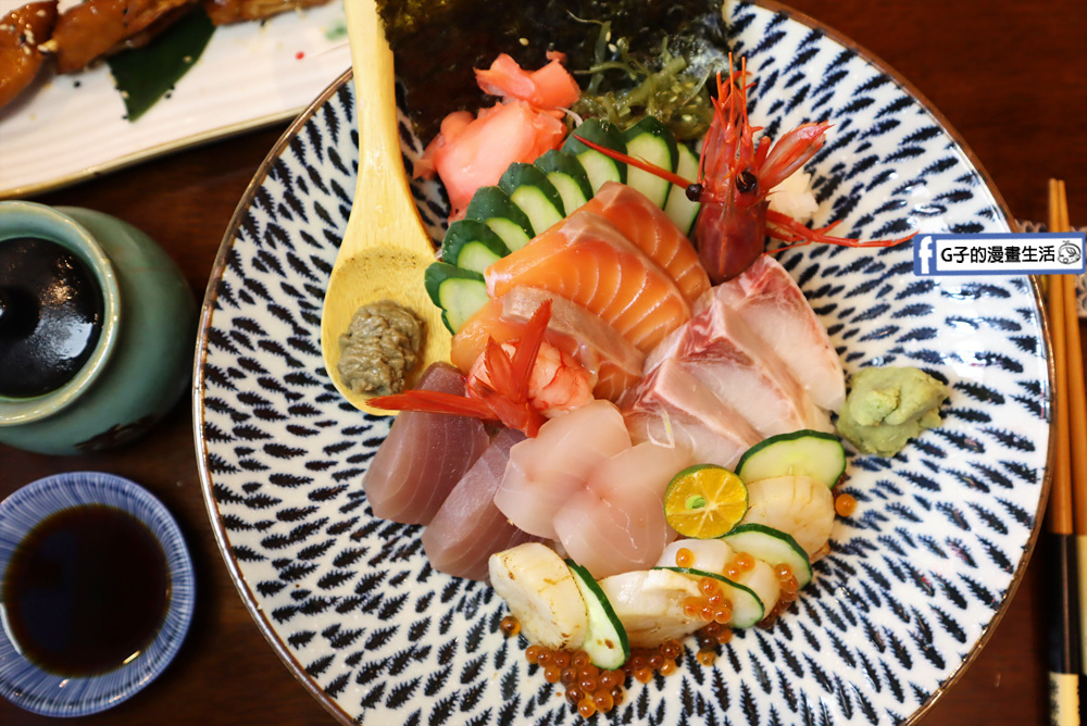 板橋 日本料理.鯉魚哥丼滋丼.生魚片丼飯.鰻魚飯