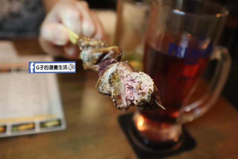 隆次郎燒鳥串燒.西門町串燒居酒屋.雞肝