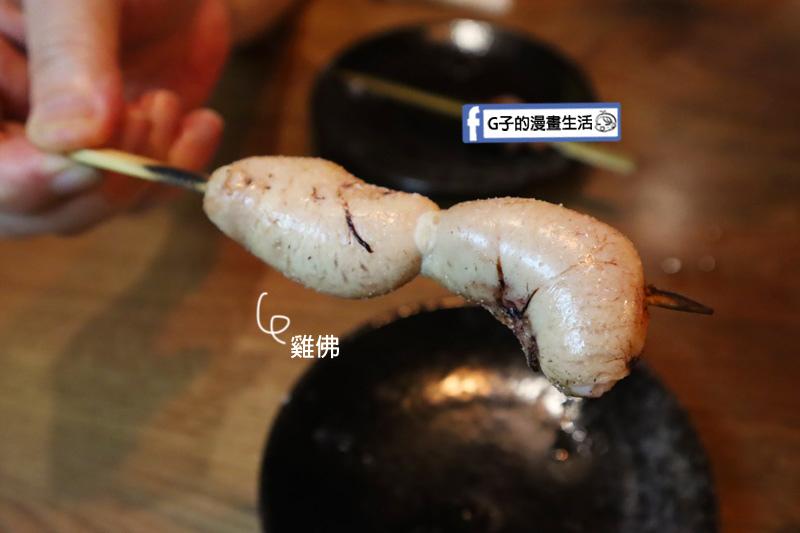 隆次郎燒鳥串燒 雞佛