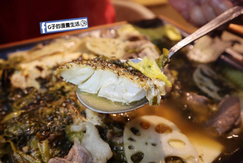 IMG_0422老白木燒烤.南京復興聚餐/麻辣烤魚.酸菜魚