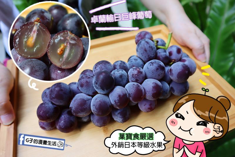 網路宅配-菓寶食.卓蘭葡萄.卓蘭外銷日本巨峰葡萄.送禮水果