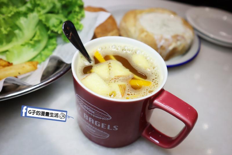 忠孝敦化早午餐.N.Y. Bagels 紐約貝果.N.Y Bagels cafe 仁愛圓環