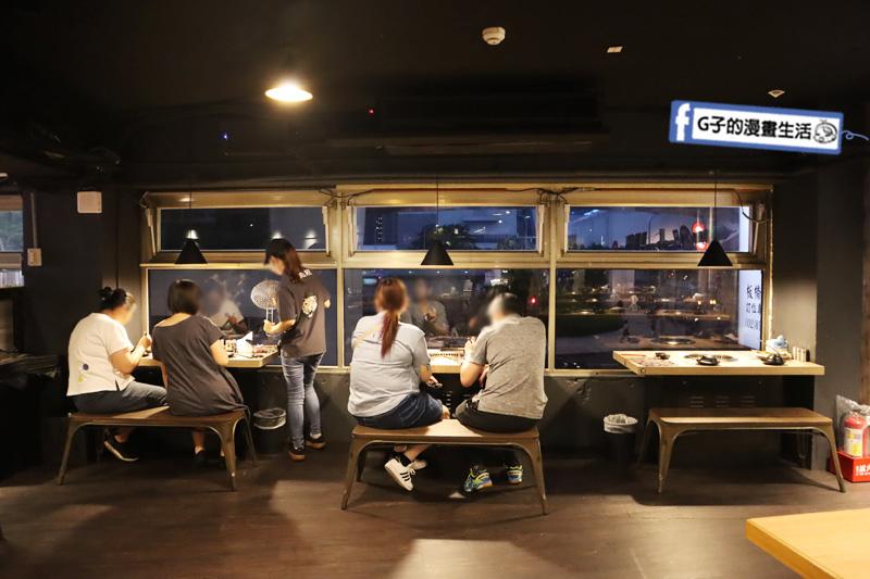 板橋燒烤吃到飽-燒肉殿.座位寬敞