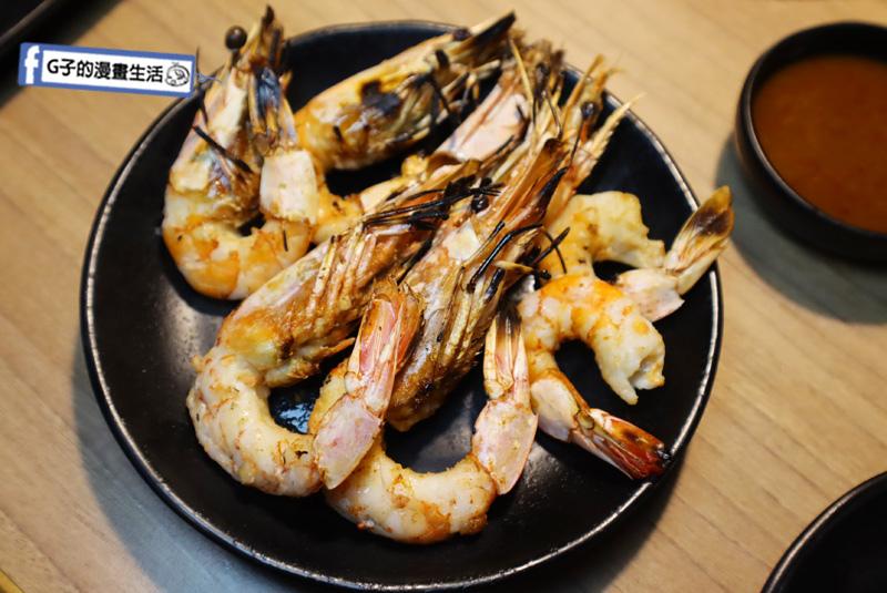 板橋燒烤吃到飽-燒肉殿.戰車龍蝦..肥豬蝦.天使紅蝦