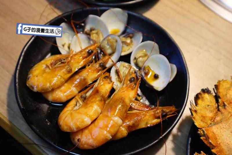 板橋燒烤吃到飽-燒肉殿.麻辣烤魚.火鍋煮蝦