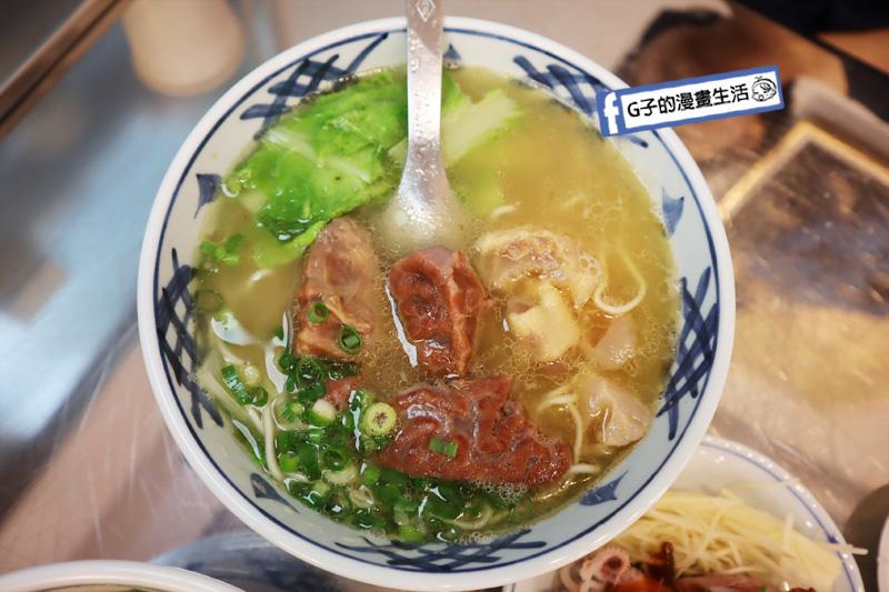 永和美食-老王牛肉麵.清燉牛肉麵.半筋半肉