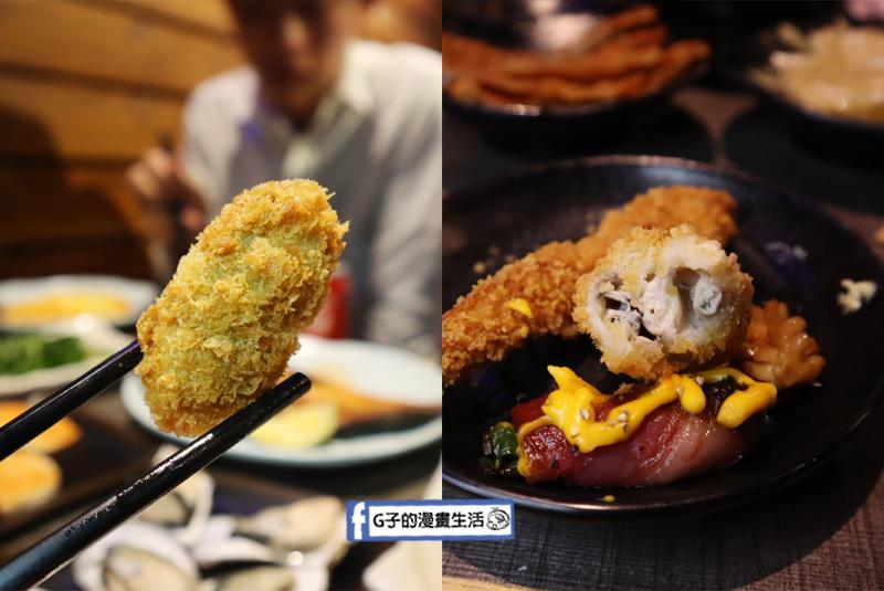 西門 串燒殿.串燒.居酒屋料理吃到飽.炸蝦.炸牡蠣