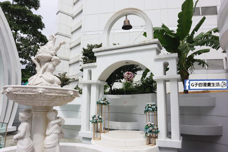 台北婚宴場地-星靓點花園飯店.景美捷運站.白色水晶教堂