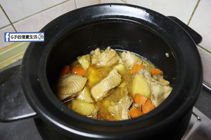 馬鈴薯滷雞肉.香菇瓜仔雞湯