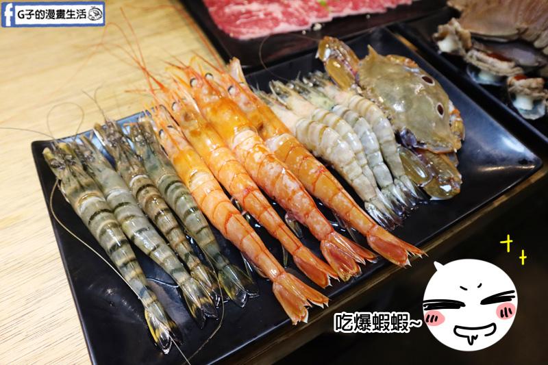 螃蟹.三點蟹.天使紅蝦.肥豬蝦.東區燒烤吃到飽.燒肉殿.生啤無限暢飲