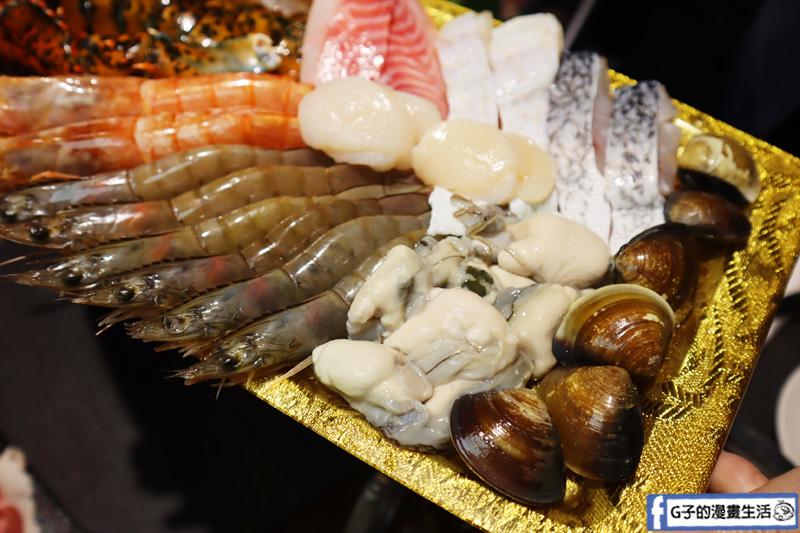新莊 火鍋.圓滿鍋物.波士頓龍蝦海陸雙人餐.活海鮮