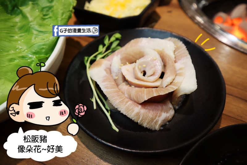 板橋新埔站燒烤吃到飽-燒惑日式炭火燒肉店.松阪豬