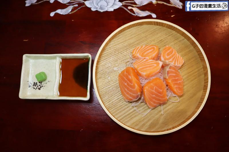 三重熱炒美食-48號熱炒.台菜海鮮餐廳.鮭魚生魚片
