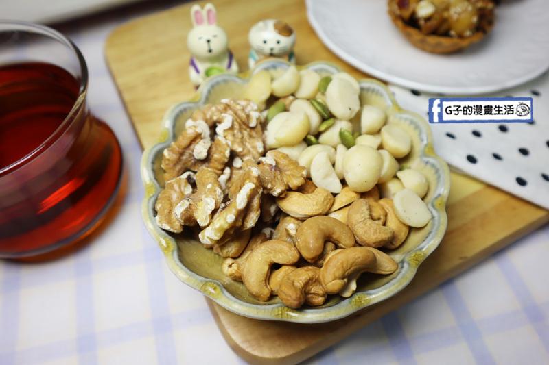 愛豆屋洋菓子工坊.過年禮盒.年節禮盒.台南伴手禮.堅果塔禮盒