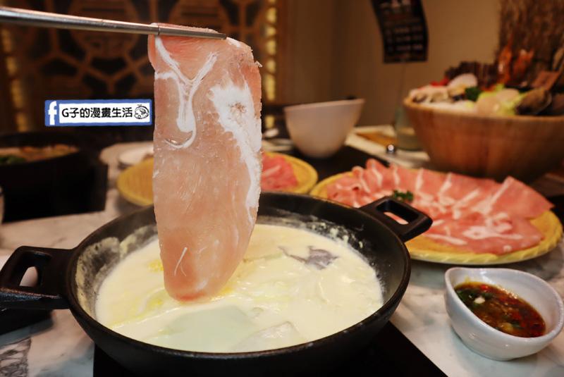 中山區火鍋-一品府御膳鍋物,台味火鍋.日本A5和牛雙人海陸餐.肋眼