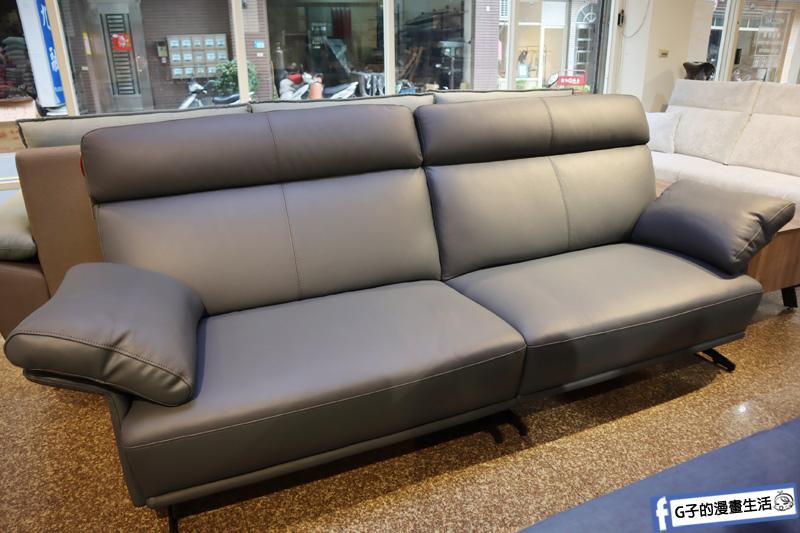 WF窩家具 沙發床墊.蘆洲平價家具店.半牛皮沙發