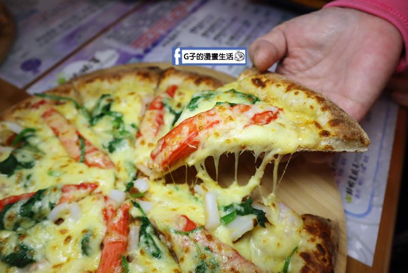 拍拍手披薩咖啡.【蘆洲 披薩 親子餐廳.義大利麵】.外送美食