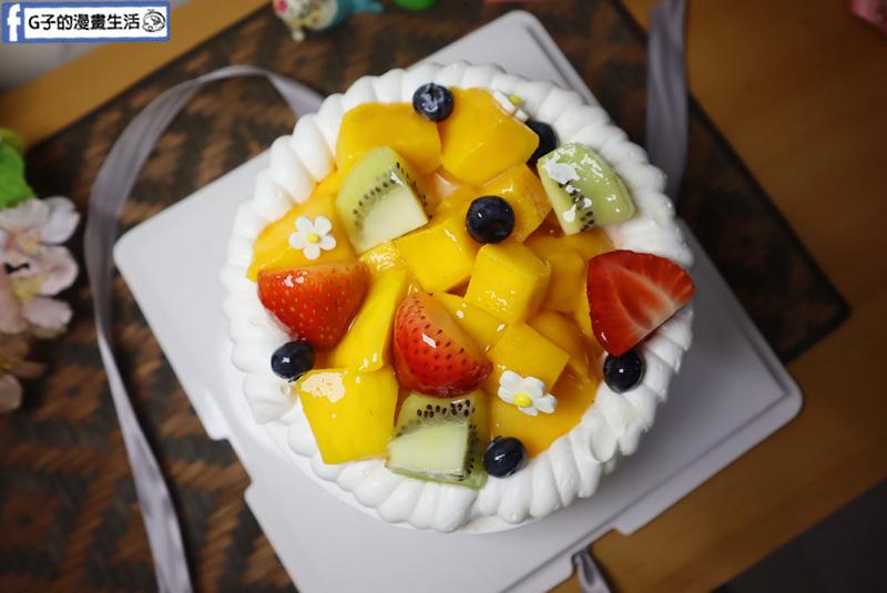 迪利米蛋糕 仲夏水果蛋糕6吋