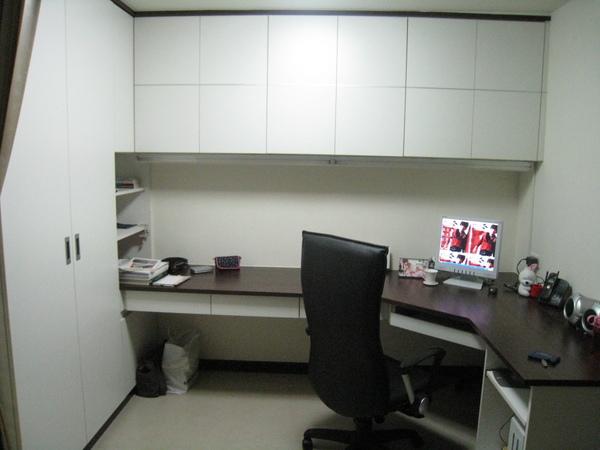 M的辦公桌