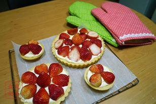 學生作品草莓塔