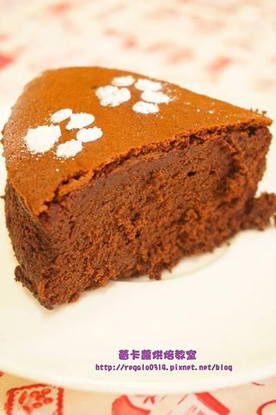 古典巧克力蛋糕