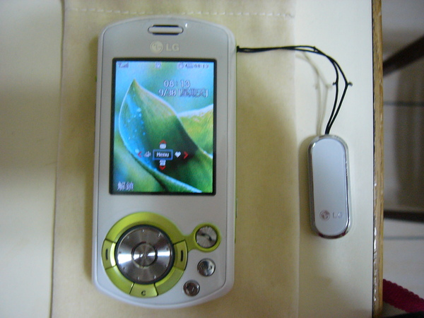我的新手機~LG KE600
